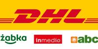 DHL odbior w punkcie logo
